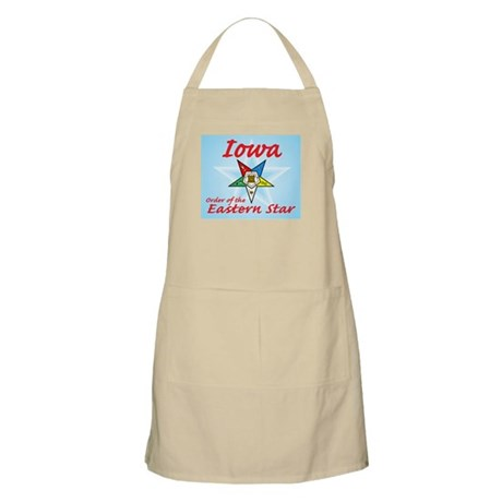 Iowa Eastern Star BBQ Apron