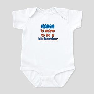 Kaden - Big Brother To Be Infant Bodysuit