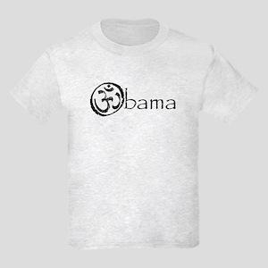 Om Obama 2008 Kids Light T-Shirt