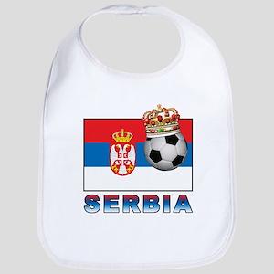 Serbia Football Bib
