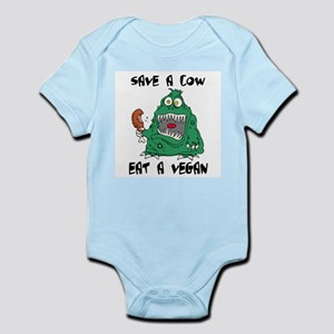 Save a cow, eat a vegan Infant Creeper