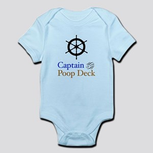 Captain Poop Deck Infant Bodysuit