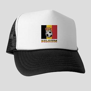 Belgium Football Trucker Hat