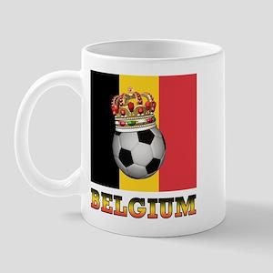 Belgium Football Mug