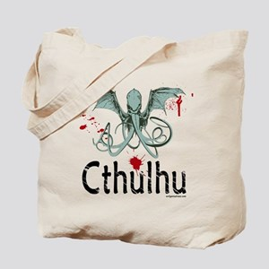 Cthulhu head vector Tote Bag