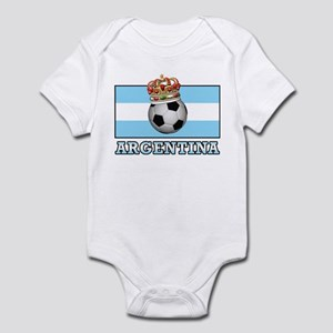 Argentina Football Infant Bodysuit
