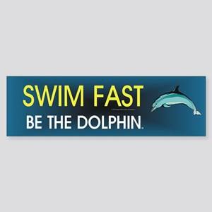 TOP Swim Slogan Sticker (Bumper)