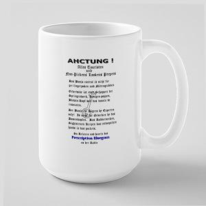 Prescription Bluegrass Offici Large Mug