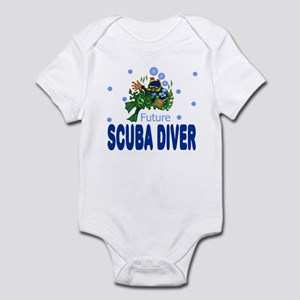 Future Scuba Diver Baby Toddler Infant Bodysuit
