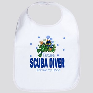 Future Scuba Diver Like Uncle Baby Infant Bib