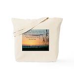 Sea Oats - Philippians 4:8 Tote Bag