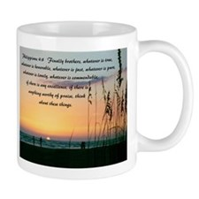 Sea Oats - 11oz Philippians 4:8 Mugs