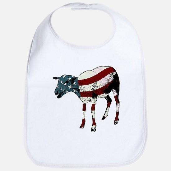 American Sheeple Bib