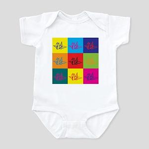 Origami Pop Art Infant Bodysuit