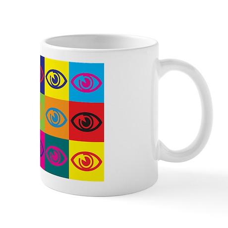 Optometry Pop Art Mug