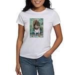 Women's Squirrel Illustration T-Shirt