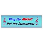 Play The Music Bumper Sticker (10 pk)