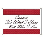 Cancer Not Who I Am Banner