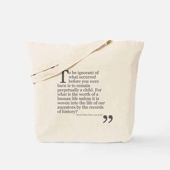Life Of Our Ancestors Tote Bag
