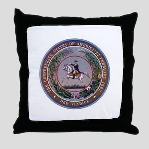 CSA Seal Throw Pillow