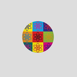 Nuclear Engineering Pop Art Mini Button