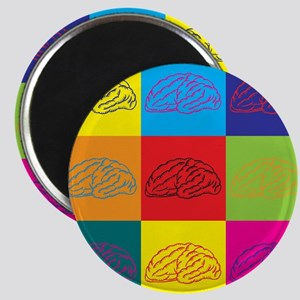 Neuroscience Pop Art Magnet