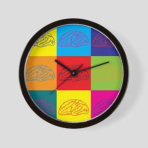 Neurology Pop Art Wall Clock