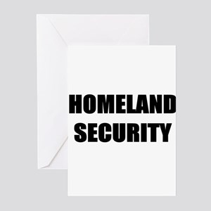 Homeland Security Greeting Cards (Pk of 10)