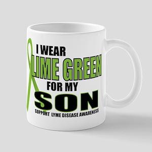 LD: Lime Green For Son Mug