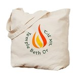 Temple Beth Or Tote Bag