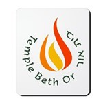 Temple Beth Or Mousepad