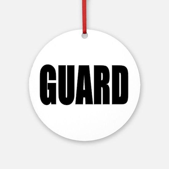 Guard Keepsake (Round)