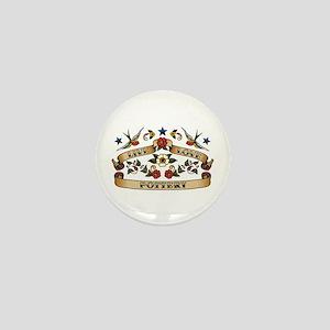 Live Love Pottery Mini Button