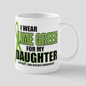 LD: Lime Green For Daughter Mug