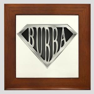 SuperBubba(metal) Framed Tile