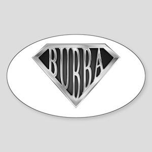 SuperBubba(metal) Oval Sticker