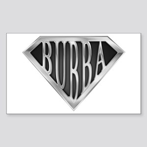 SuperBubba(metal) Rectangle Sticker