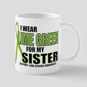 LD: Lime Green For Sister Mug