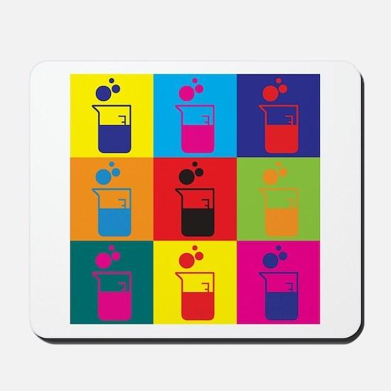 Microbiology Pop Art Mousepad