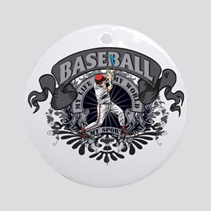 Baseball My Sport Ornament (Round)