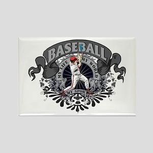 Baseball My Sport Rectangle Magnet