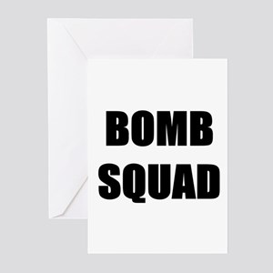 Bomb Squad Greeting Cards (Pk of 10)