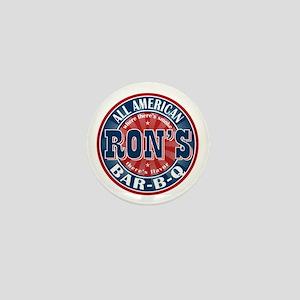Ron's All American BBQ Mini Button