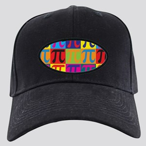 Math Pop Art Black Cap