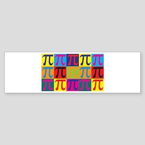 Math Pop Art Bumper Sticker