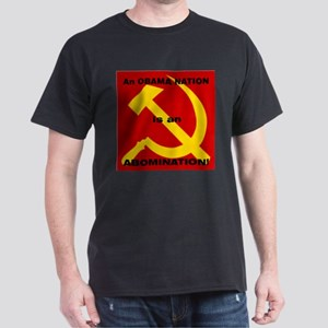 An Obama Nation is an Abomina Dark T-Shirt