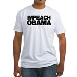 Impeach Obama Fitted T-Shirt