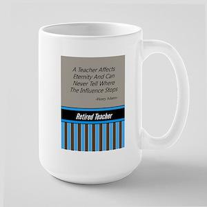 Retired Teacher Journal 3 Travel Mugs