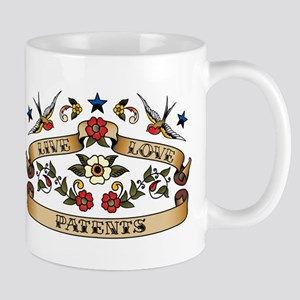 Live Love Patents Mug