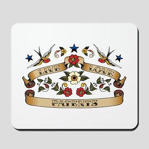 Live Love Patents Mousepad